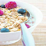 A breakfast centered around whole grains can get your engine  running and keep your heart ticking.